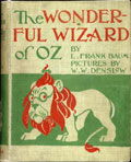 The Wonderful Wizard of OZ Book front cover
