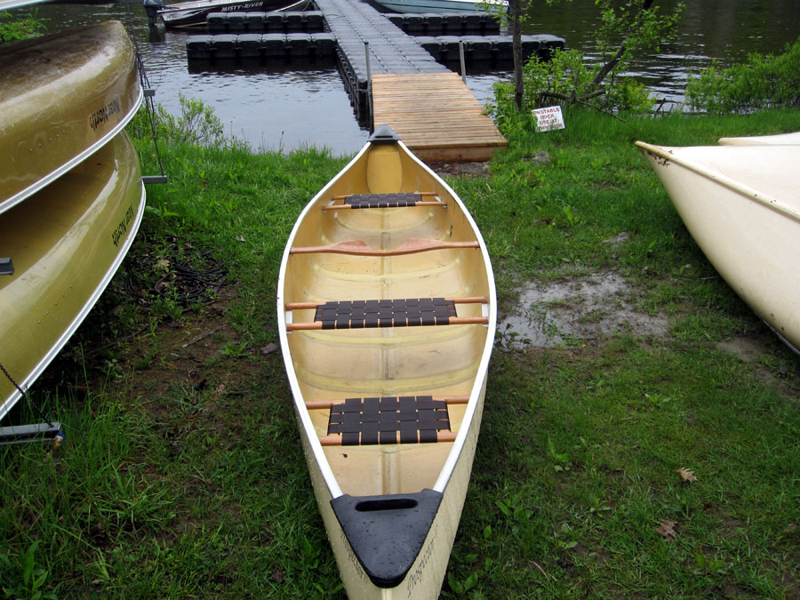 Near North 3 seater canoe